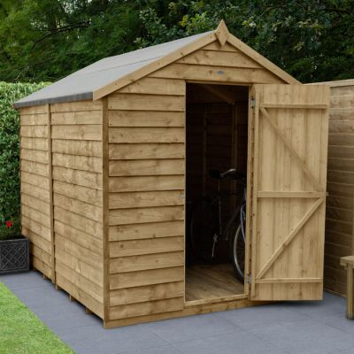 Hartwood 6' x 8' Windowless Overlap Pressure Treated Apex Shed