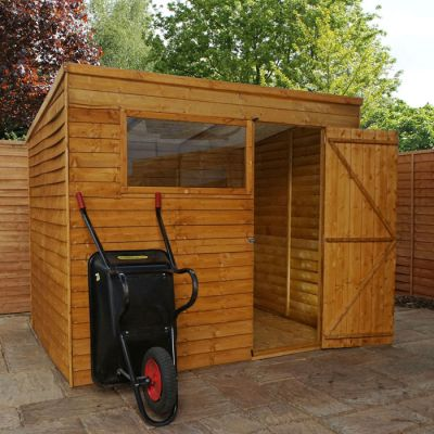 Adley 8' x 6' Overlap Pent Shed