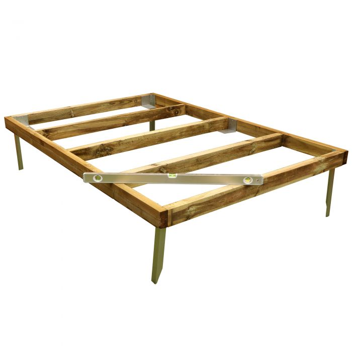 Adley 6' x 6' Wooden Shed Base