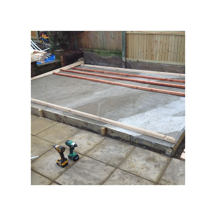 AGB Concrete Base Install Under 4m