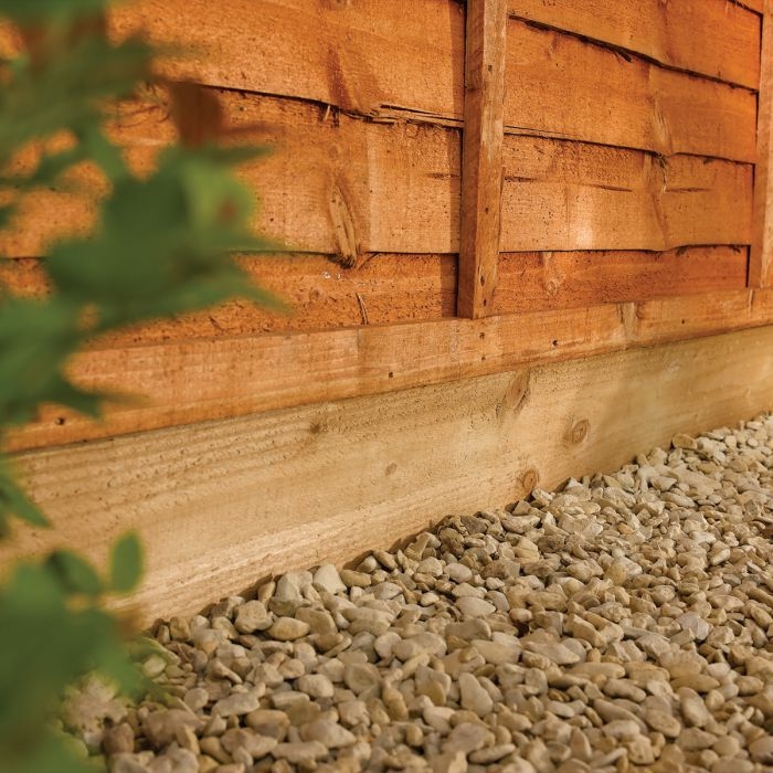 Rowlinson 6' Brown Gravel Board
