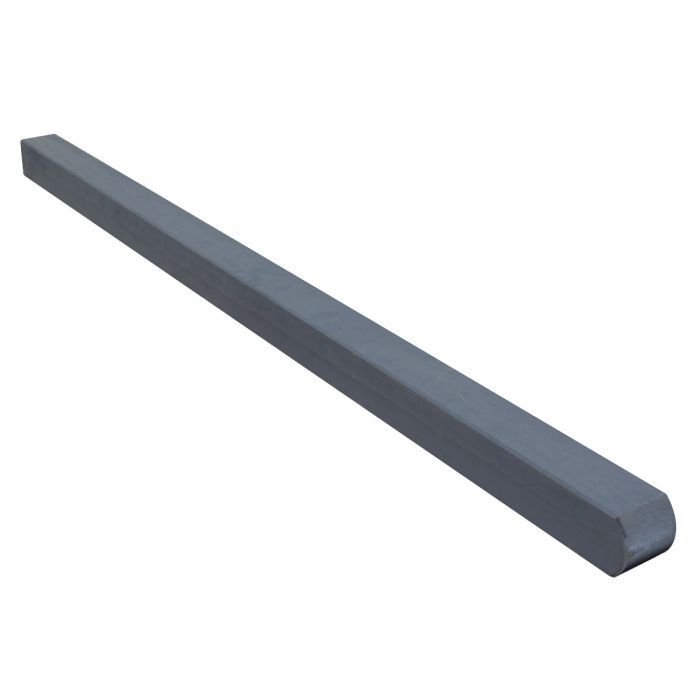 Rowlinson 6' Grey Fence Post - 90mm