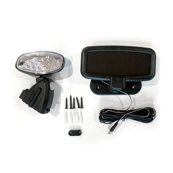 Shed Solar Pir Utility Light