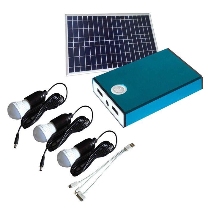 Greenway Solar Panel Lighting and USB Charger Kit