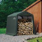 Shelter Logic 8' x 8' Peak Style Portable Storage Shed