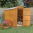 Adley 5' x 7' Windowless Overlap Apex Shed