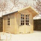 Redlands 2.4m x 3m Eren Log Cabin