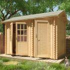 Redlands 3.6m x 2.4m Carnoustie Log Cabin