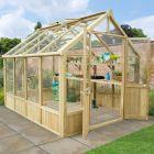 Hartwood 8' x 10' Premium Wooden Greenhouse