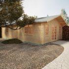 Redlands 5.4m x 9.2m Turnberry Log Cabin