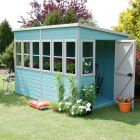 Loxley 6' x 10' Shiplap Pent Shed