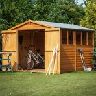 Loxley 6' x 12' Double Door Overlap Apex Shed