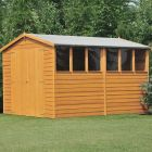 Loxley 8' x 10' Double Door Overlap Apex Shed