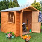 Loxley 7' x 7' Double Door Overlap Apex Shed