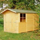 Loxley 7' x 10' Double Door Shiplap Apex Shed