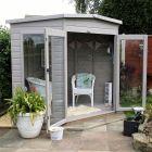 Loxley 8' x 8' Rowan Corner Summer House
