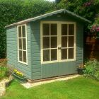 Loxley 7' x 7' Kingswood Summer House