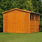 Loxley 8' x 12' Double Door Overlap Apex Shed