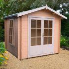 Loxley 2.7m x 2.7m Ashford Log Cabin