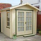 Loxley 2.4m x 2.4m Ashford Log Cabin