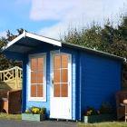 Loxley 2.7m x 2.7m Coulsdon Log Cabin