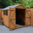 Hartwood 6' x 8' Double Door Overlap Apex Shed