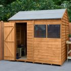 Hartwood 8' x 6' Overlap Reverse Apex Shed