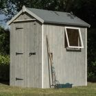Rowlinson 4' x 6' Heritage Shed