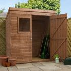 Adley 6' x 4' Pressure Treated Shiplap Pent Shed