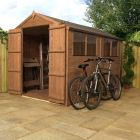 Adley 6' x 10' Pressure Treated Double Door Shiplap Apex Shed