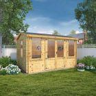 Adley 4m x 3m Westmorland Log Cabin