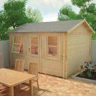 Redlands 4.2m x 3m Torrey Log Cabin