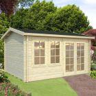 Stour 3.9m x 3m Essex Log Cabin