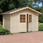 Stour 3m x 2.4m Lancashire Log Cabin