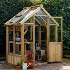 Hartwood 6' x 4' Premium Wooden Greenhouse