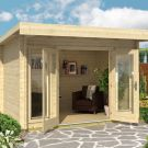 Greenway 3.3m x 2.4m Carrick Log Cabin
