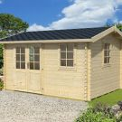 Greenway 3.8m x 2.8m Tollymore Log Cabin
