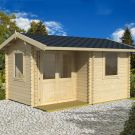 Greenway 3.8m x 2.8m Delamere Log Cabin