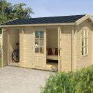 Greenway 3.9m x 2.4m Alice Log Cabin