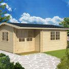 Greenway 4.8m x 2.8m Delamere Log Cabin