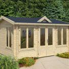 Greenway 4m x 3m Gisburn Log Cabin