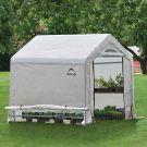 Shelter Logic 6' x 6' Peak Style Portable Greenhouse