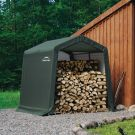 Shelter Logic 8' x 8' Peak Style Portable Storage Shed
