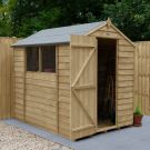 Hartwood 5' x 7' Overlap Pressure Treated Apex Shed