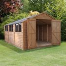 Adley 10' x 15' Double Door Overlap Apex Workshop