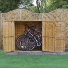 Adley 6' x 3' Overlap Pent Bike Shed