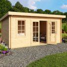 Greenway 4.6m x 3.2m Penninghame Log Cabin