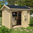 Greenway 2.5m x 2m Mini Elizabeth Log Cabin