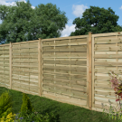 Rowlinson 6' x 6' Horizontal Weave Fence Panel