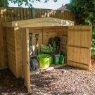 Hartwood Pressure Treated Overlap Apex Large Outdoor Store
